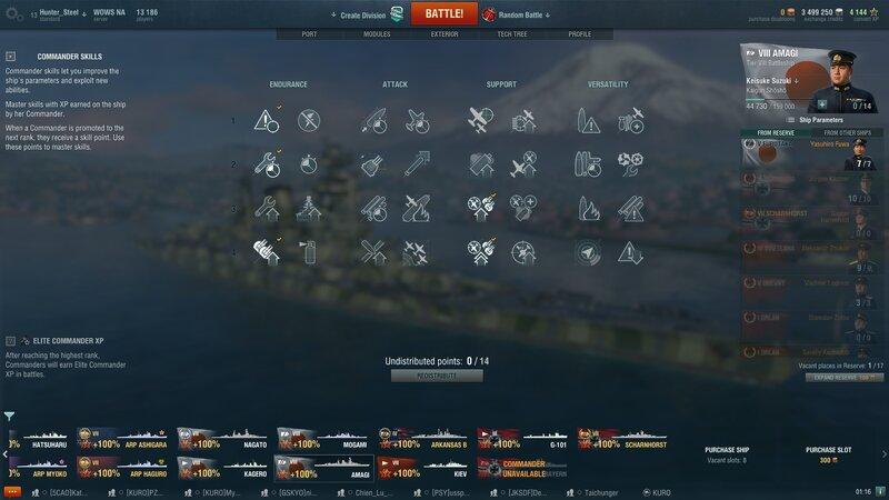 Brawling Build for Yamato - Japanese Battleships - World of Warships official forum