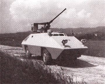 OTO Melara Gorgona R2.5 and R3 Capraia armored cars