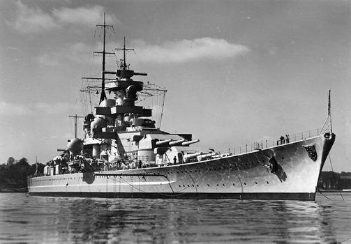 Image result for gneisenau battleship