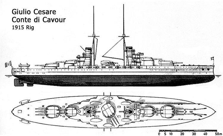 Italian battleship Conte di Cavour - Alchetron, the free social ...