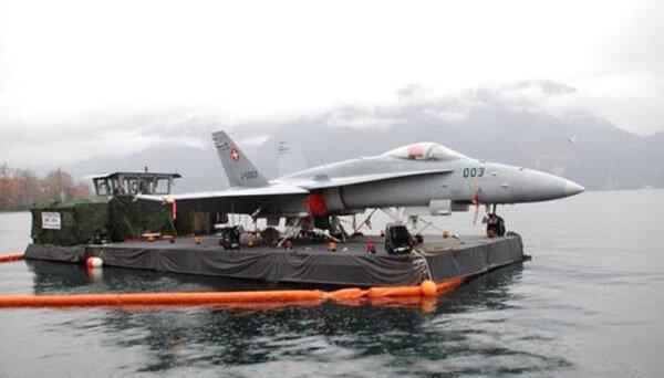 Swiss Aircraft Carrier - Aviation Humor
