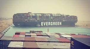 Suez Canal blocked by stranded Evergreen boxship - Splash247