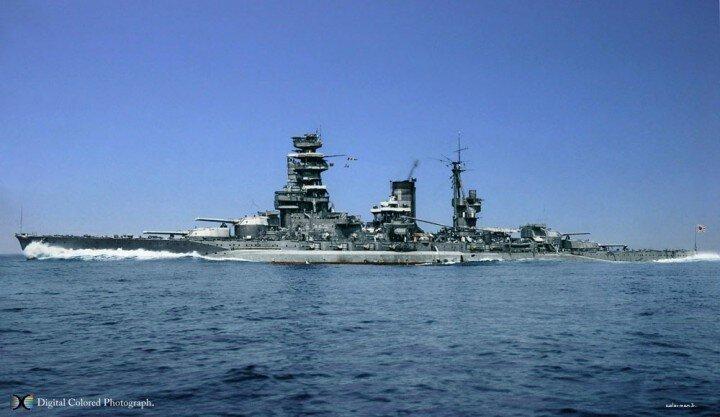 IJN Nagato 1944 - Nagato Class Battleship Minecraft Project