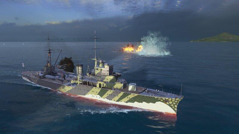 Premium Ship Review: Katori - WorldOfWarships