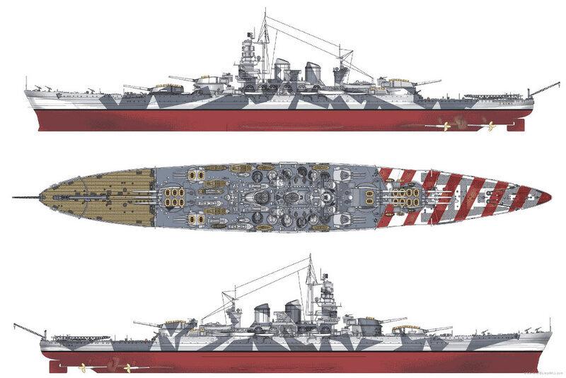 Image result for roma battleship