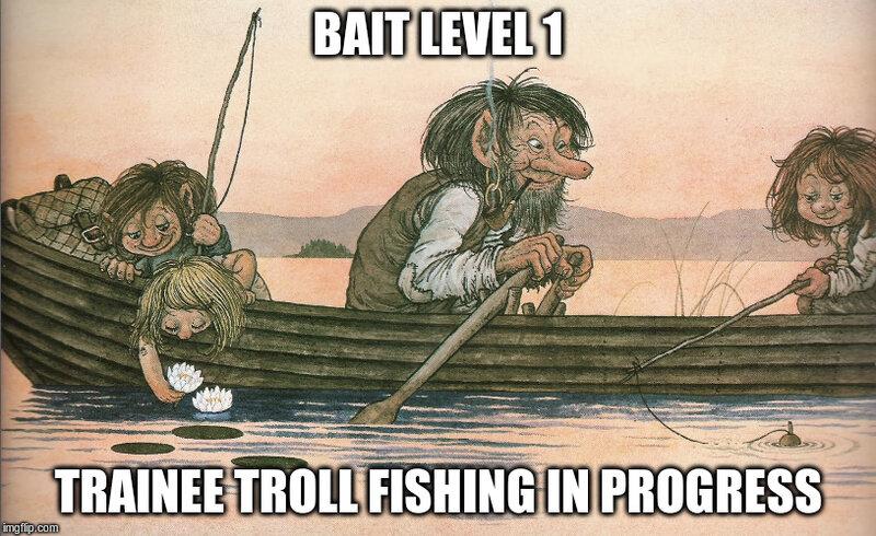trolls fishing Memes & GIFs - Imgflip