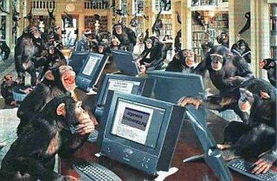monkeys computers Blank Template - Imgflip