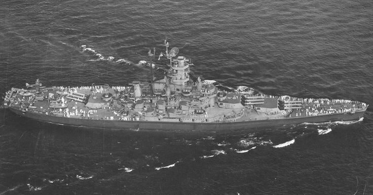 Image result for uss alabama 1945