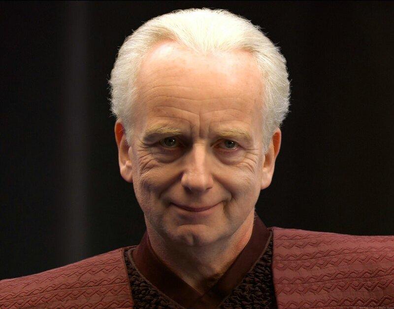 Image result for senator palpatine unnatural