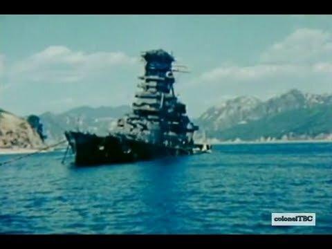 Wreck of the Japanese battlecruiser Haruna at Kure - YouTube
