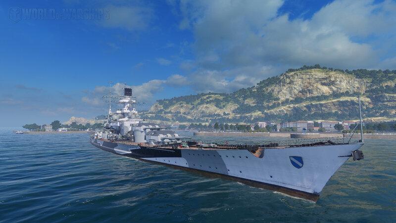 Scharnhorst - Tier VII Premium German Battleship Stream Preview