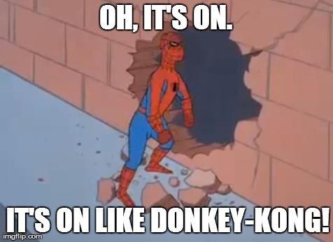 "Image result for it's on like donkey kong meme"""