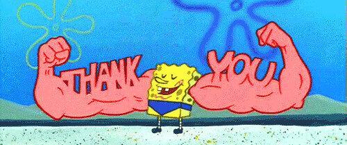 SpongeBob Thank You muscles   mhollantx   Flickr