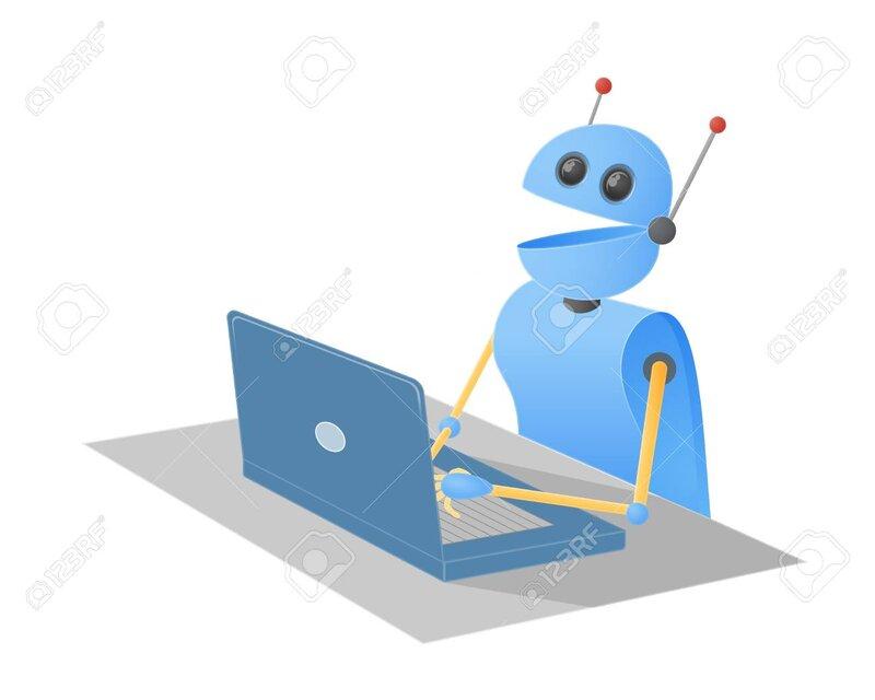 93346141-chatbot-robot-typing-on-a-laptop-computer-sitting-at-a-desk-vector-illustration-.jpg