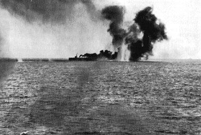 USS_Gambier_Bay_at_the_Battle_off_Samar.