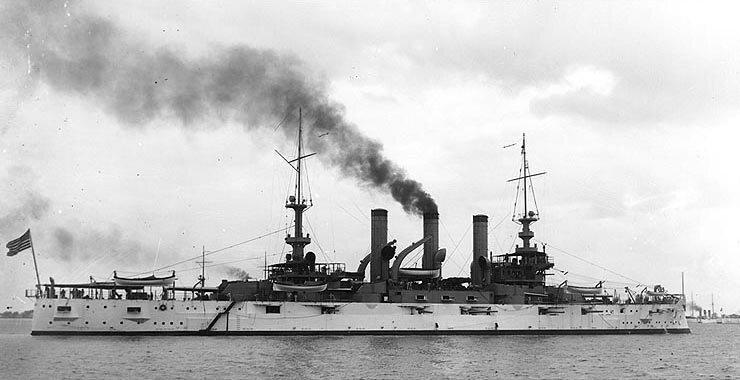 USS Vermont (BB-20) - Wikipedia