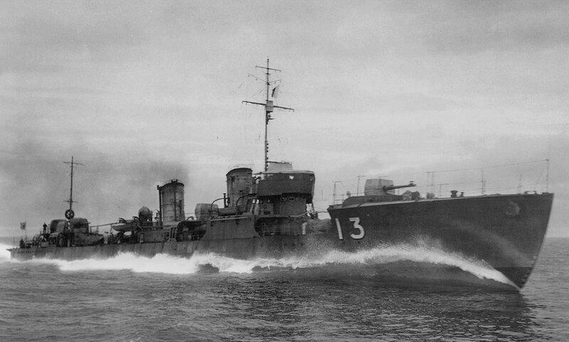Image result for destroyer world war 2