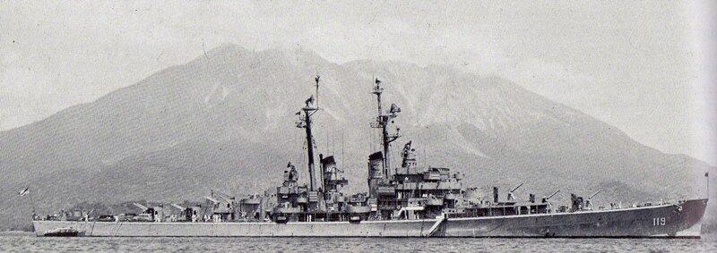 USS_Juneau_(CLAA-119)_at_anchor_in_Kagos