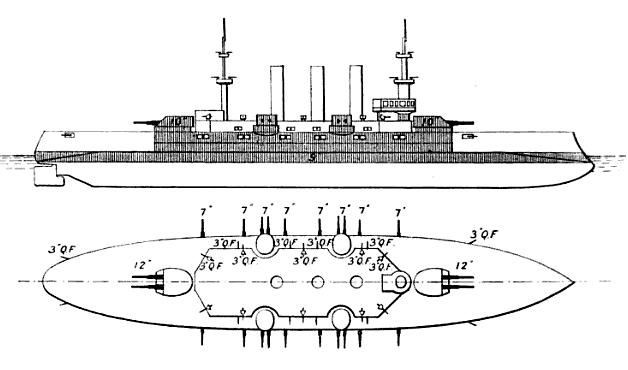 Connecticut-class_battleship_line-drawin