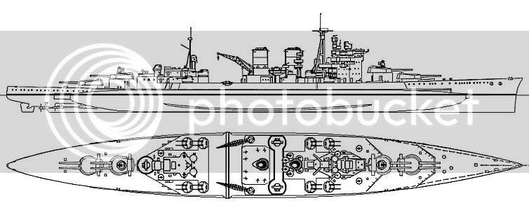 HMS Hood Refit between August 1940 - April 1941   alternatehistory.com