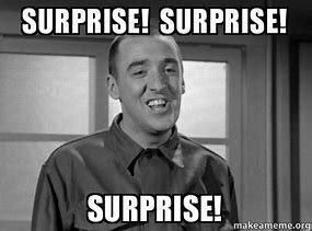 Image result for surprise surprise surprise gomer