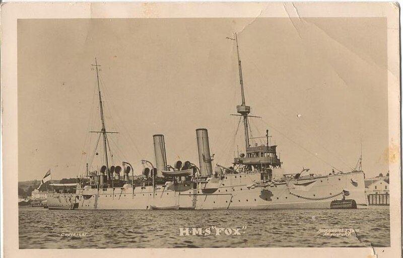 WW1Memoir-SmithGC1918Fox.JPG