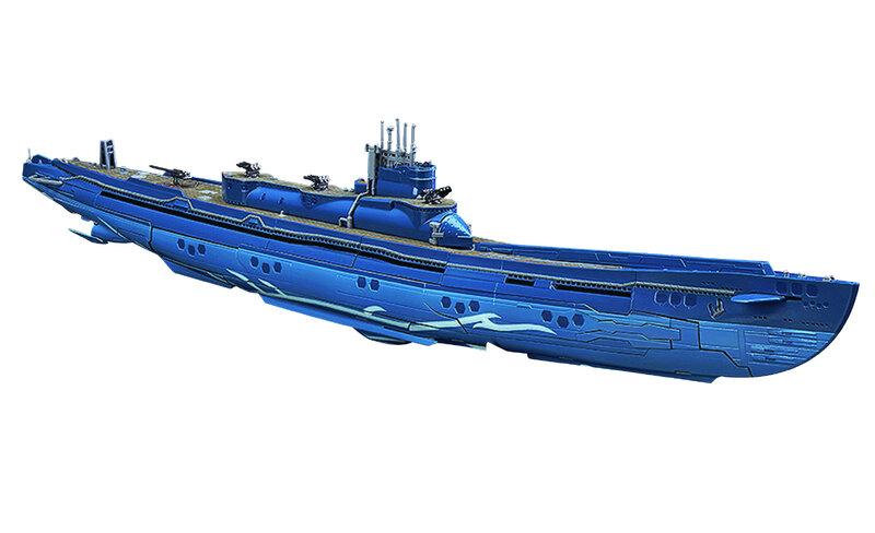 MAR158110 - ARPEGGIO OF BLUE STEEL AN GSA I-401 1/350 SCALE MODEL -  Previews World