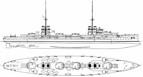 Blueprints > Ships > Ships (Italy) > RN Dante Alighieri ...