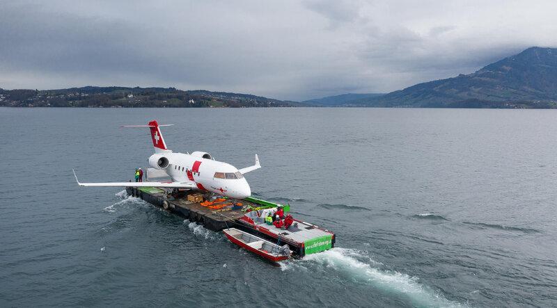 Medical help from the air - Verkehrshaus der Schweiz